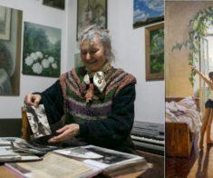 Выставка Елены Бейсембиновой «Зима»