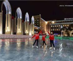 Каток на площади КЦДС «АТАКЕНТ»