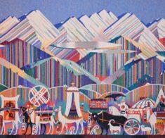 Выставка «Современный гобелен. Сделано в Казахстане»
