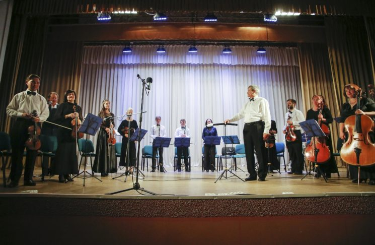 Рождественский концерт камерного оркестра «Ad libitum»