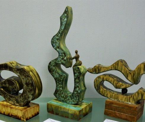 Выставка произведений керамики