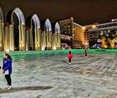 Праздник на льду ICE JUMP Масленица-карнавал