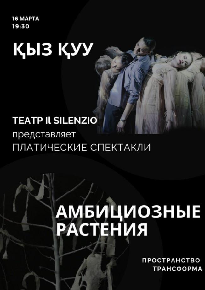 Пластические спектакли от театра Il Silenzio