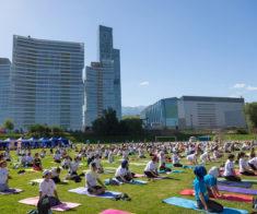 Йога-конвенция в Алматы