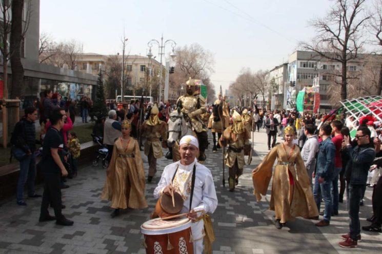 Праздничное мероприятие «Шествие Наурыз – 2019»