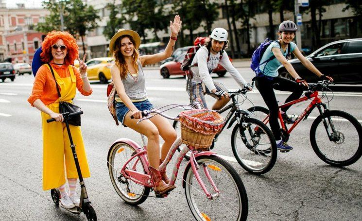 Массовый велопарад