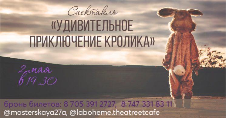 """Спектакль """"Удивительное приключение кролика"""""""