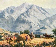 Выставка «Живописное наследие Орала Тансыкбаева»