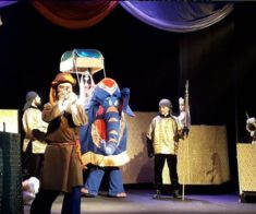 Спектакль «Волшебная лампа Алладина»