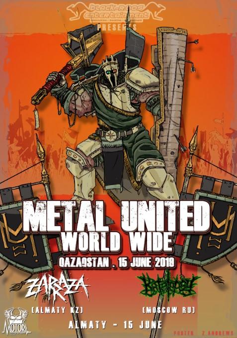 Katalepsy: Metal United World Wide