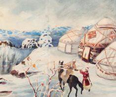 Выставка «Акварель Казахстана: вчера и сегодня»