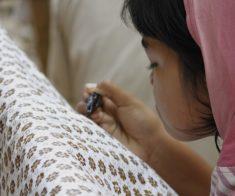 Мастер – класс по искусству росписи батика