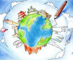 Выпускной начальных классов «Вокруг света»