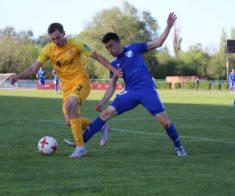 Футбольный матч «Кайрат» — «Жетысу»