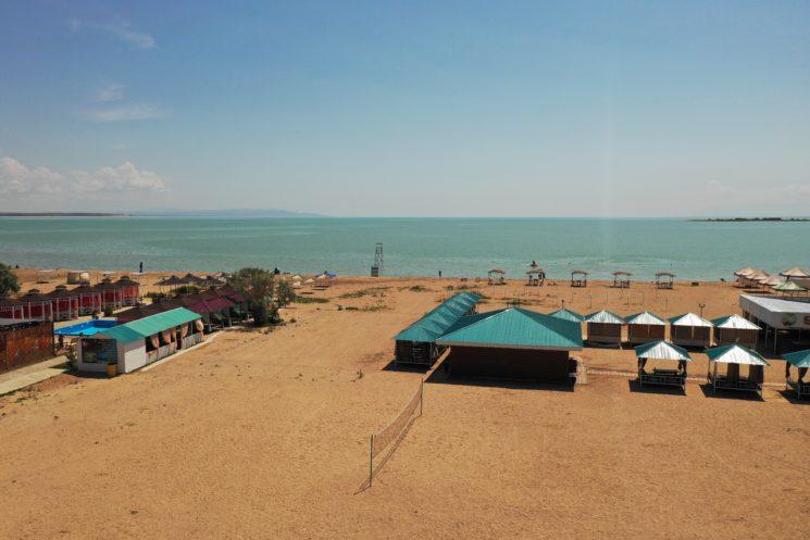 пляж капчагай