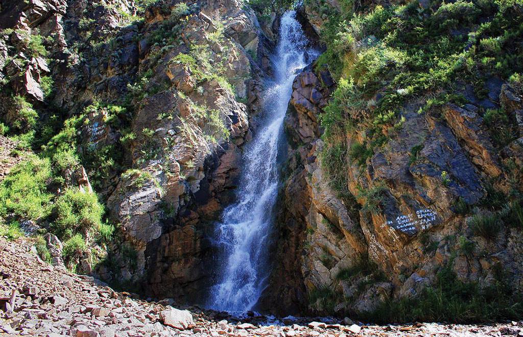 медвежий водопад