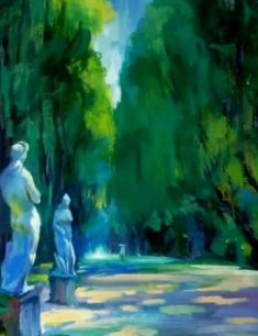 Выставка живописи и графики «Зелёное»