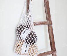 Мастер-класс «Плетём авоську»
