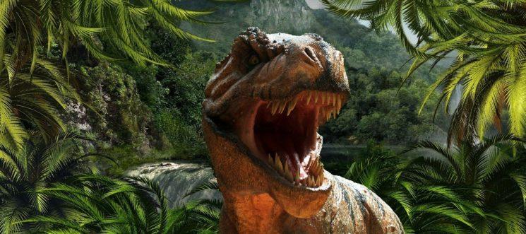 Выставка динозавров-роботов