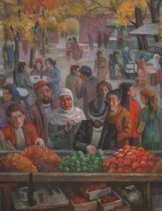 Выставка картин Серикбая Альжанова