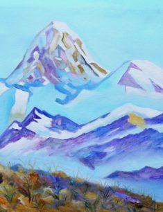 Выставка картин художников Алматинской области