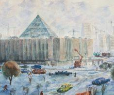 Юбилейная выставка Уке Ажиева