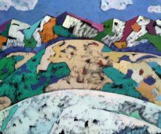Отчетная выставка Союза художников Республики Казахстана