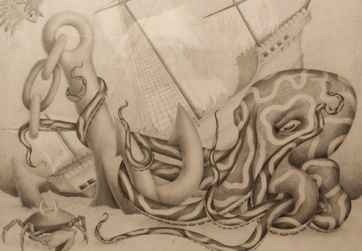 """Выставка живописи и графики """"На струнах души"""""""