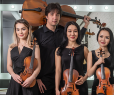 Концерт струнного квартета Tengri