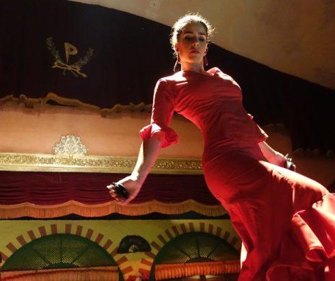 Мастер-класс по фламенко и видеопоказ спектакля
