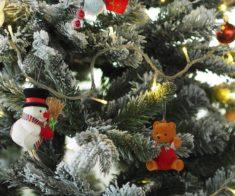 Новогодняя елка в Резиденции Деда Мороза