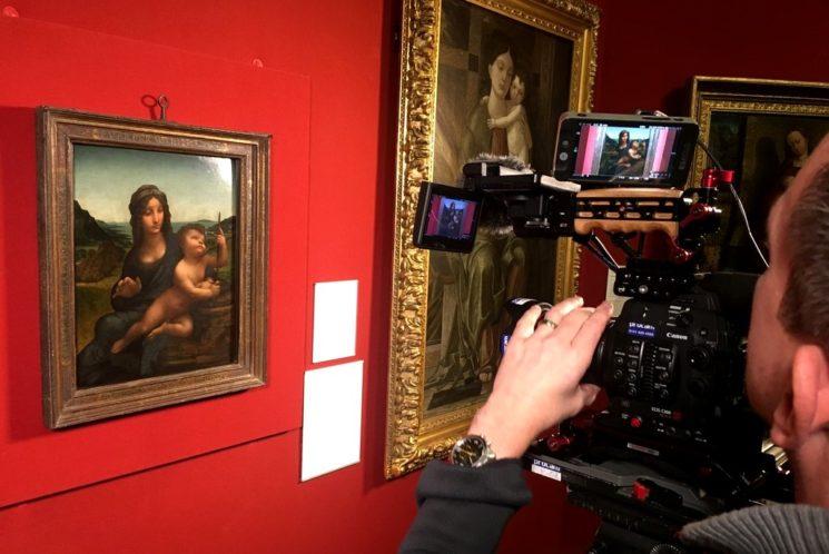 """Показ документального фильма """"Леонардо. Вся история"""""""