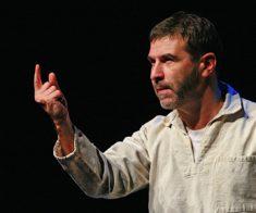Спектакль Евгения Гришковца «Театр отчаяния или отчаянный театр»