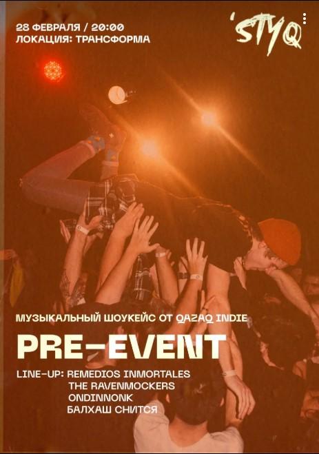 Открытие 'STYQ Fest: Pre-Event
