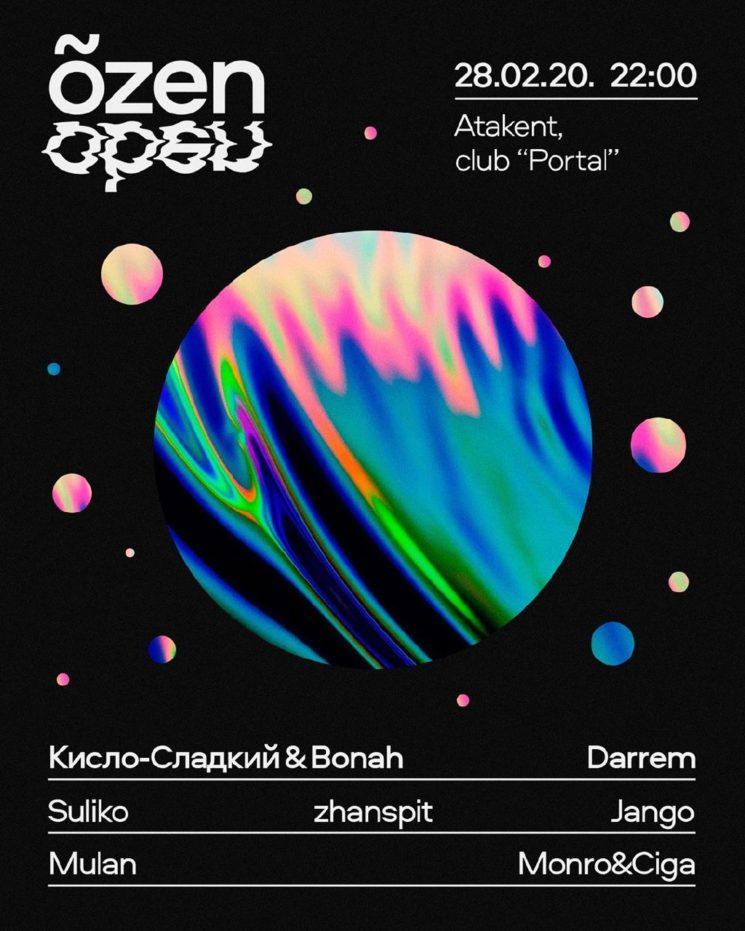 Вечеринка Õzen Open