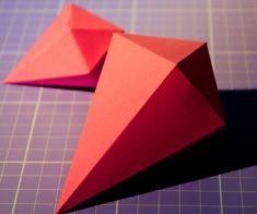 Мастер Класс «Оригами платоновых тел»