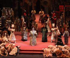 Онлайн-трансляция оперы «Борис Годунов»