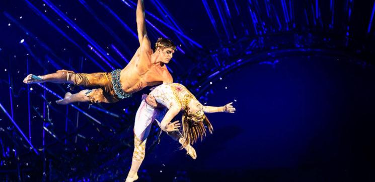 Онлайн-трансляции выступлений Цирка Дю Солей