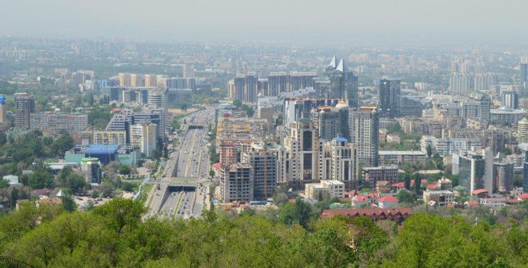 Видеоэкскурсия по улицам Алматы