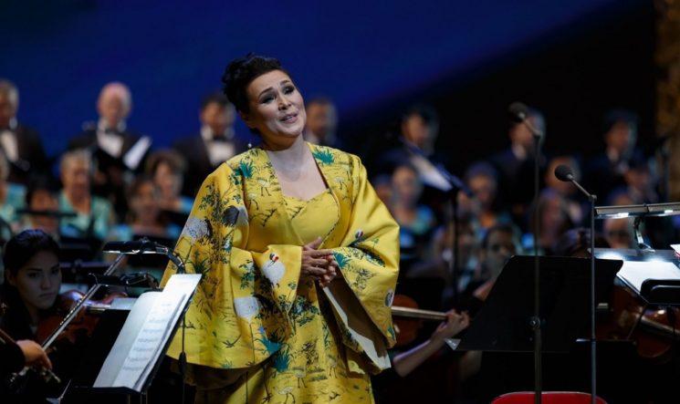 Онлайн-трансляция концерта Майры Мухамедкызы