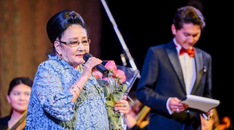 Трансляция концерта в честь 90-летия Бибигуль Тулегеновой