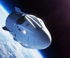 Трансляция первого пилотируемого пуска корабля SpaceX Crew Dragon