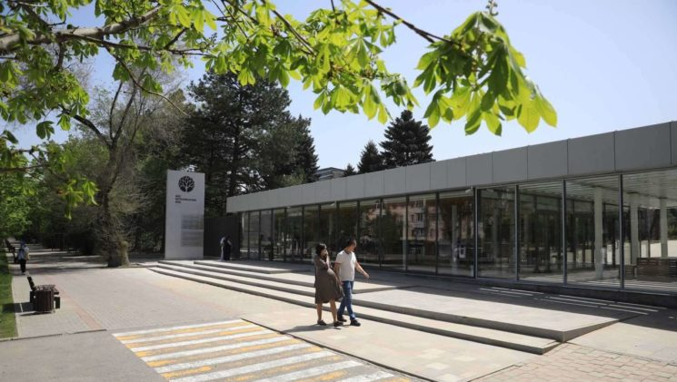 Открытие обновленного Ботанического сада