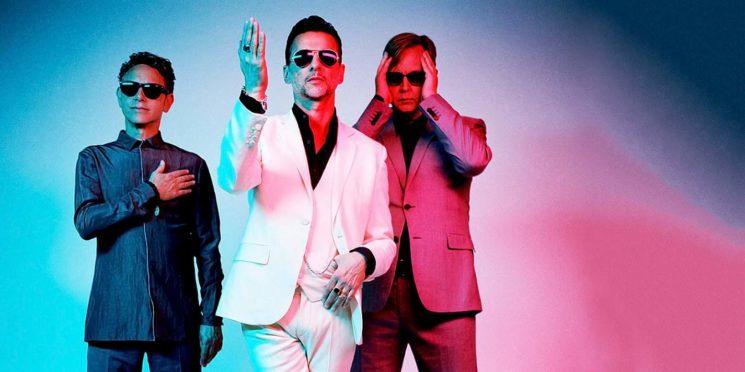 Онлайн-выступление группы Depeche Mode