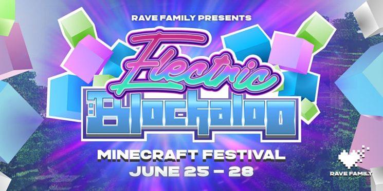 Музыкальный фестиваль Electric Blockaloo в Minecraft