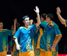 Баскетбол: БК «Астана» — БК «Парма»