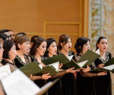 Концерт Государственной хоровой капеллы им. Б. Байкадамова