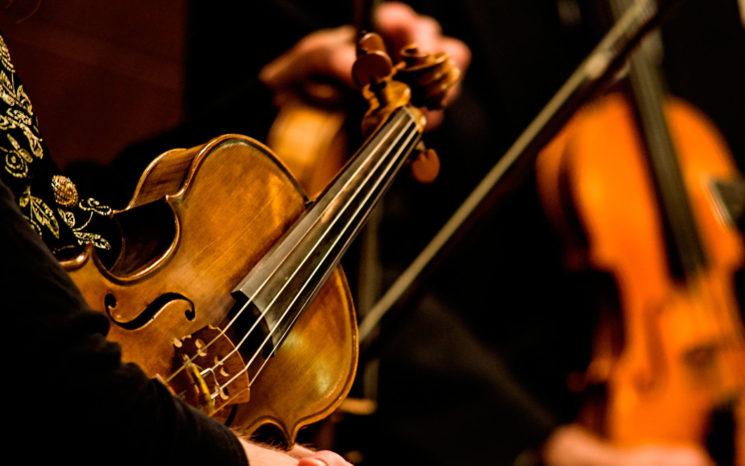 Душа поет созвучно скрипке