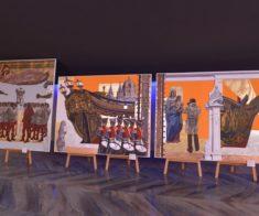 Выставка «От Лиссабона через Минск, Москву, Астану до Владивостока»