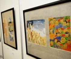 Благотворительная выставка-аукцион картин и иллюстраций к книгам